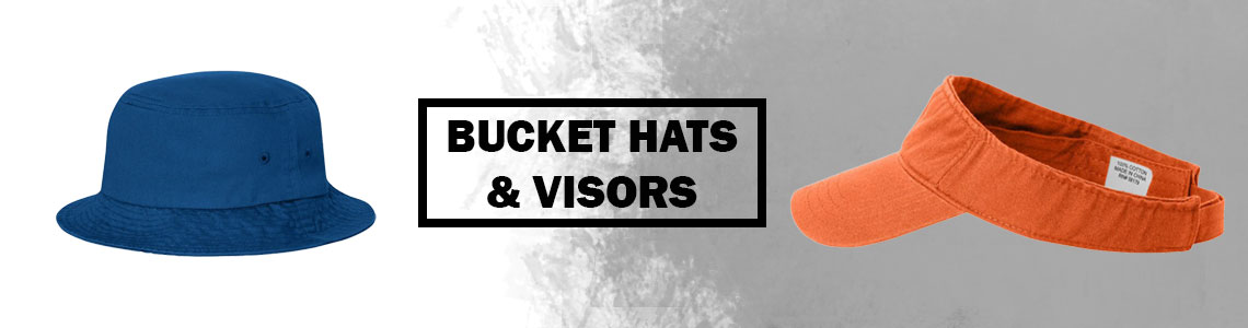 Bucket Hats, Visors & Others