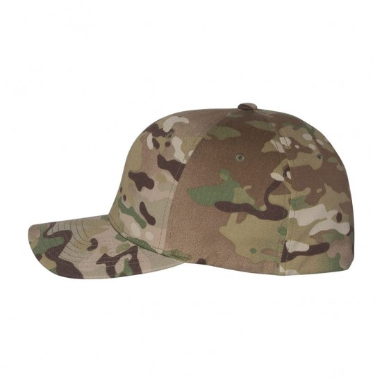 Flexfit Camo Twill Cap Side