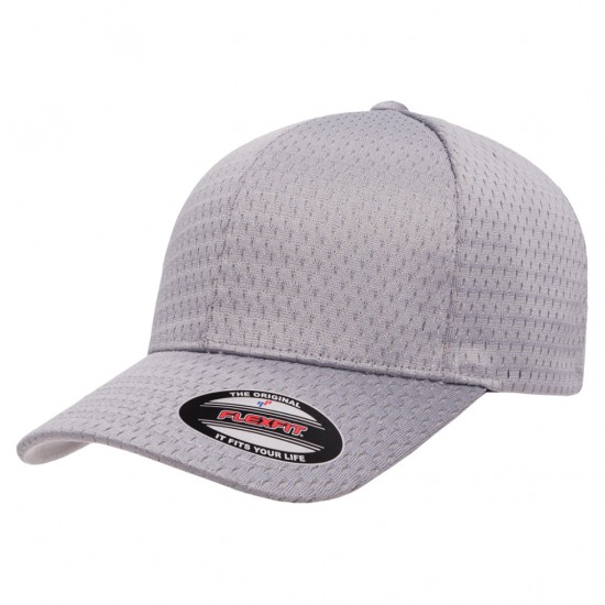 EMBROIDERED FLEXFIT ATHLETIC MESH CAP