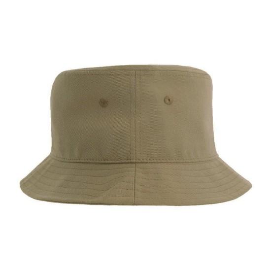 Geo Sustainable Bucket Hat Khaki Back