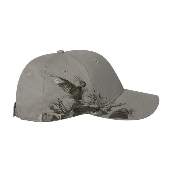 Dri Duck Eagle Cap Front
