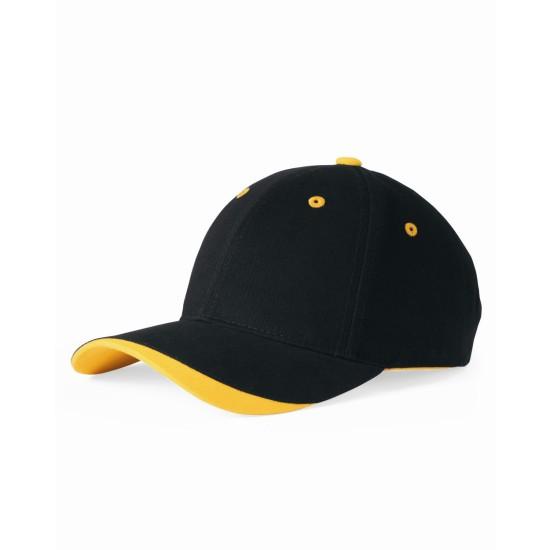 EMBROIDERED DOMINATOR CAP