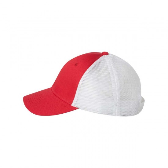 ValueCap Mesh Back Trucker Cap Side