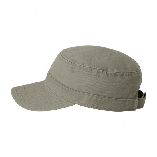 EMBROIDERED FIDEL CAP SIDE