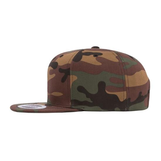 Yupoong Premium Camo Cap Side