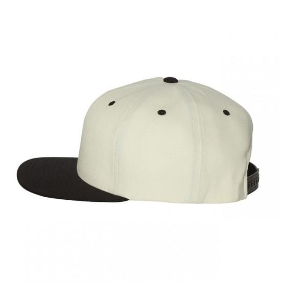 EMBROIDERED  FLEXFIT WOOL BLEND FLAT BILL SNAPBACK