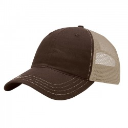 EMBROIDERED RICHARDSON WASHED TRUCKER CAP