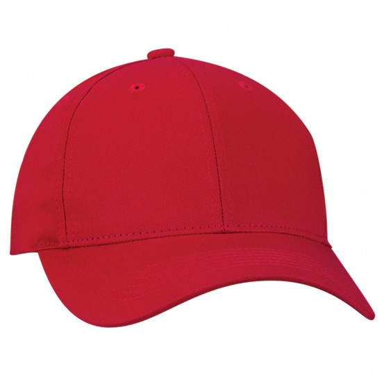 EMBROIDERED COTTON CHINO TWILL CAP