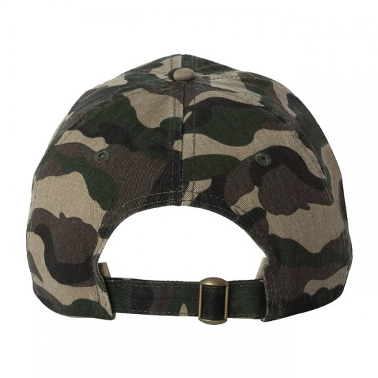 7332659a6 EMBROIDERED SPORTSMAN CLASSIC DAD CAP - CAMO