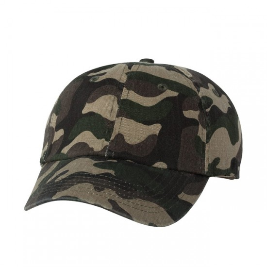 EMBROIDERED SPORTSMAN CLASSIC DAD CAP - CAMO